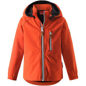 Reima Vantti Softshell Jacket Barn Orange